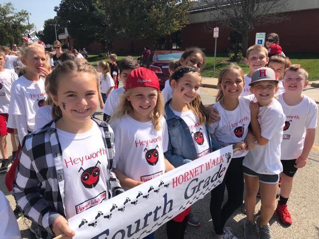 AMS Supports Heyworth Hornet Walk
