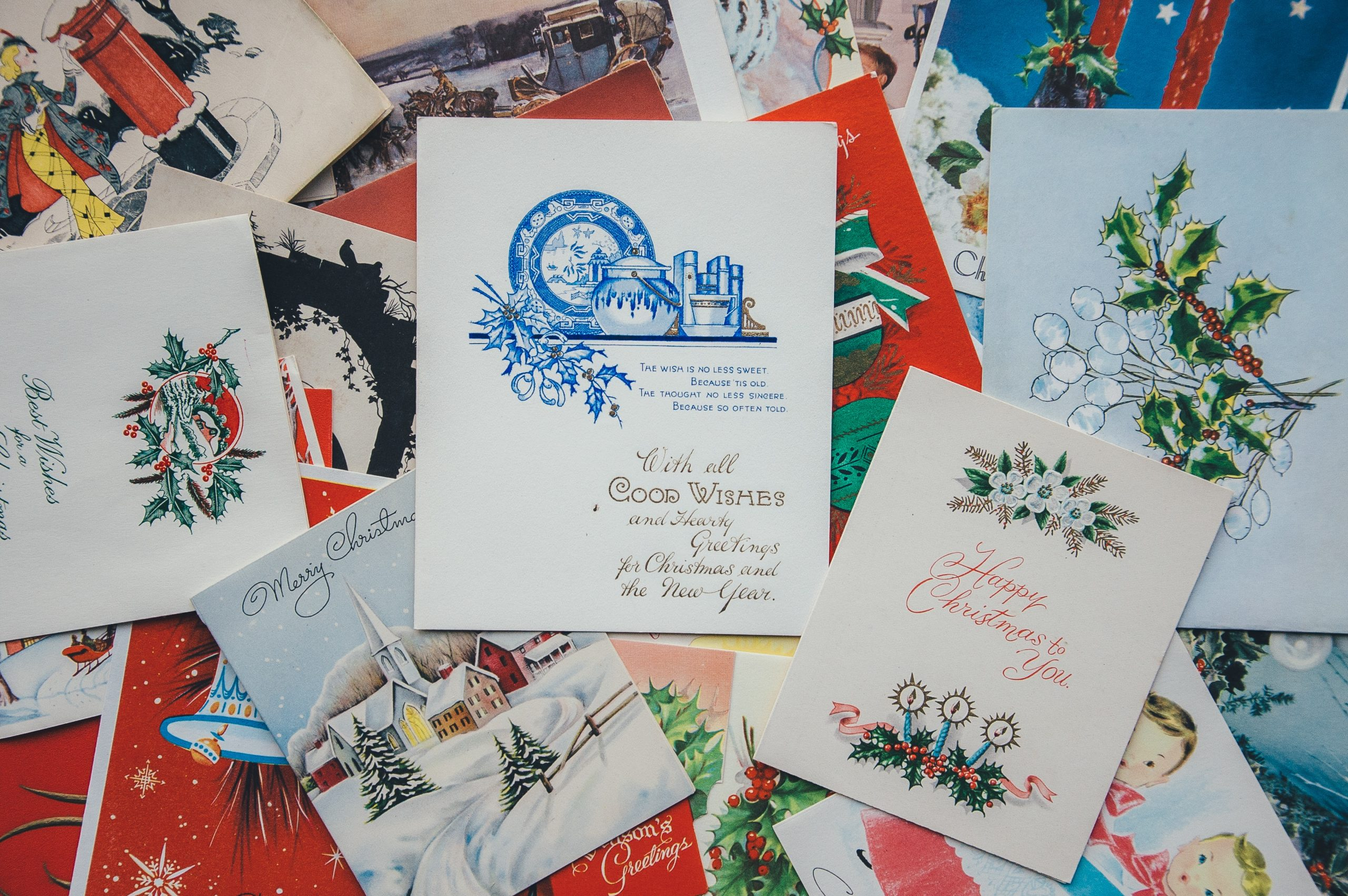Recycled Holiday Cards Benefit St. Judes Ranch